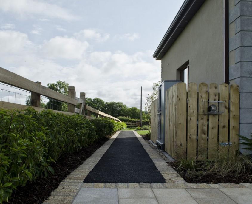 Granite, Edging, Tarmac, Pathway